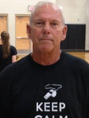 New Plymouth volleyball coach Dave Nichols