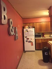The Andersons repainted the kitchen.