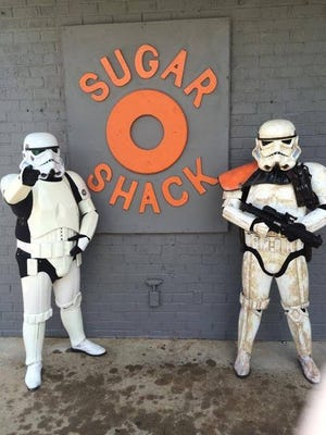 Doughnuts and Storm Troopers? Why not?