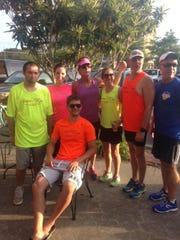 Mary Hays from Geaux Run, a local running store in the Oil Center, is a founding member of Sunday Runday at Corner Bar.