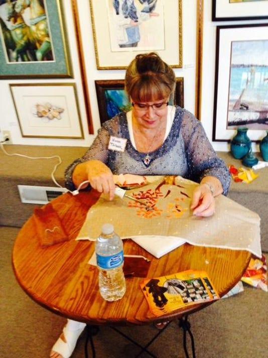 meet the artists Vivian Terbeek