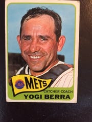 Reisman Saying Hello And Good Bye To Yankee Legend Yogi Berra