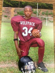 """: Howard needed more than a year to convince his parents to let him play football. Even at 8 years old, his nickname was """"The Bulldozer."""""""