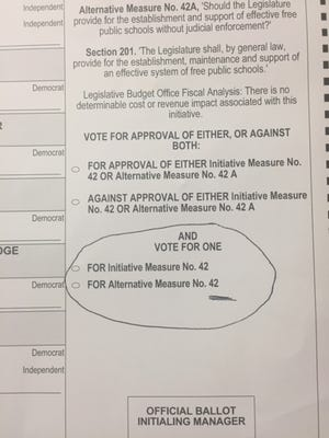 Hinds County's sample ballot includes errors that some say will confuse voters in an already complicated voting process.