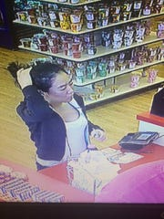 Police are seeking Jenny Kim in connection with an incident in Glen Rock in which an officer was dragged 50 yards.