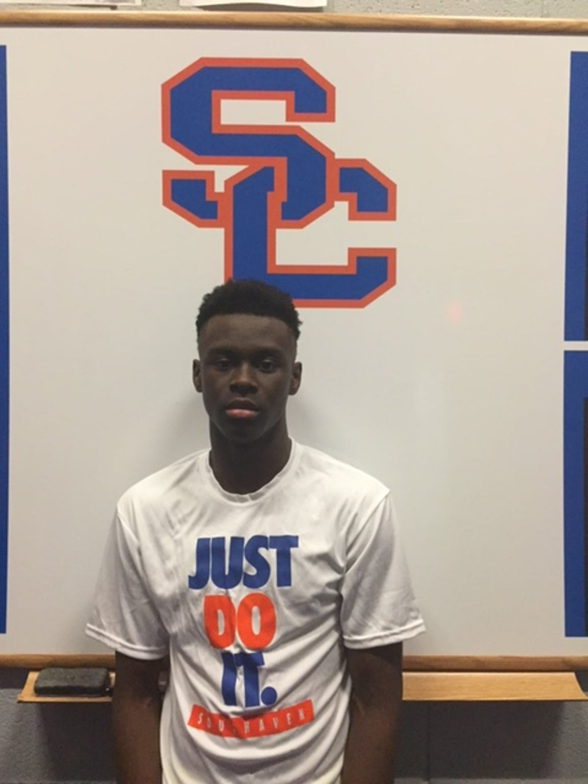 Southaven forward Taze Moore.