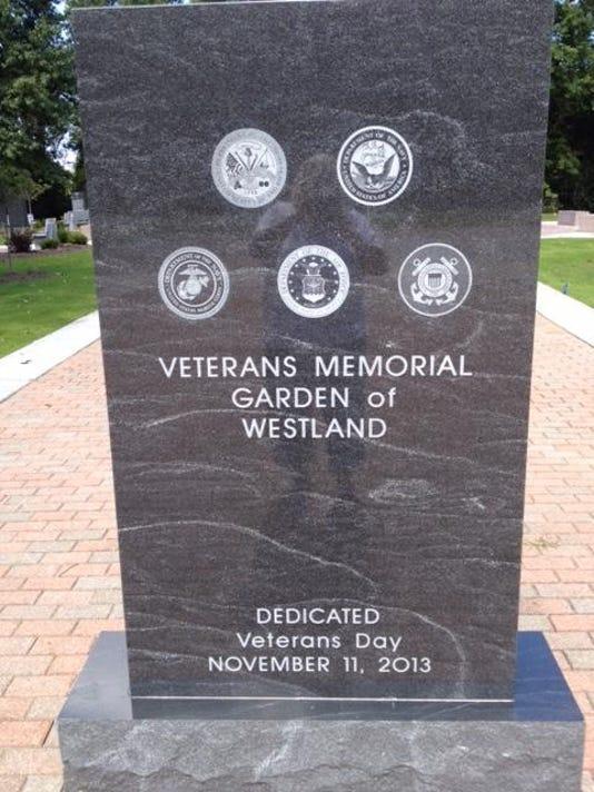 WSD memorial garden marker