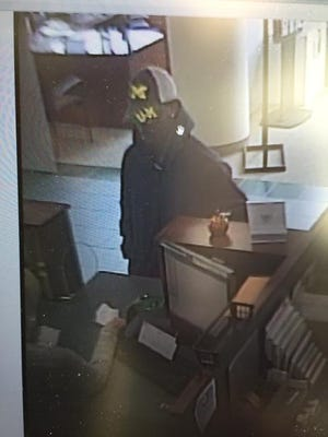 Security photo of suspected Mt. Clemens bank robber