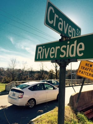Improvements are coming soon to the light at the intersection of Riverside Drive and Craven Street in the River Arts District.