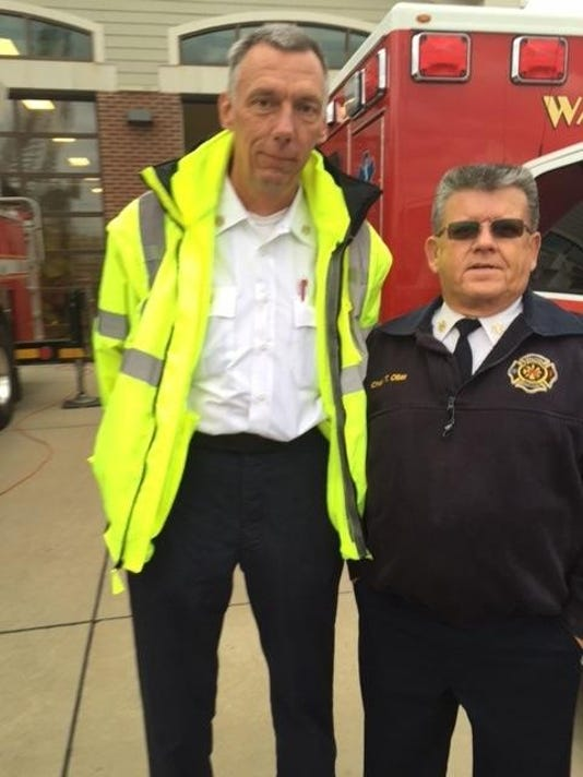 WFD Fire Chief Tom Oiller, Asst. Fire Chief Joey Vest 11-22-2015 (2)