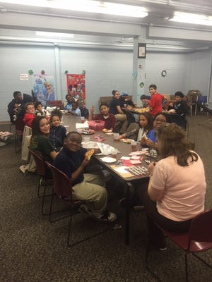 Families enjoyed Chocolate Candy Bar Bingo Night at Cumberland County Library on Dec. 15.