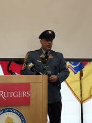 New Jersey State Police Sgt. 1st Class Chris Campbell