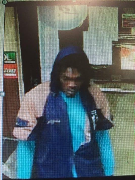 Stewart Grocery robbery suspect