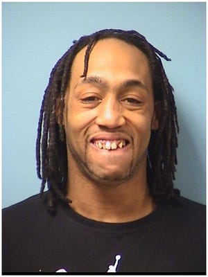 Maurice Brown was arrested Thursday by the Central Minnesota Violent Offender Task Force.