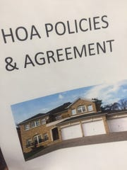 hoa policies agreement