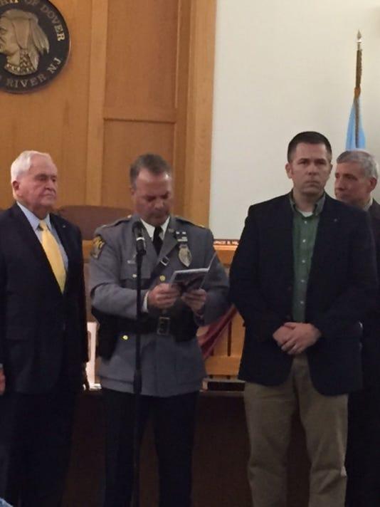Capt. Jeffrey Lenox retires