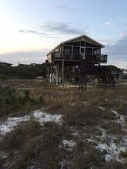 Home featured on A Tail of Alligator Point, Florida, airing on HGTV Sunday.