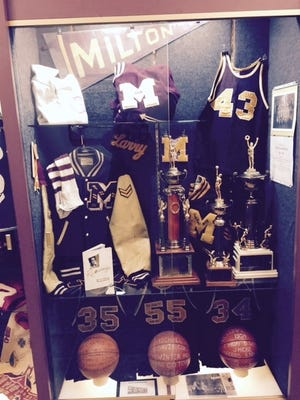 A large display of memorabilia featuring 12 local high schools will be on display at Wayne County Historical Museum.