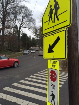 The city of Asheville is working on improvements to the crosswalk at Ira B. Jones Elementary School.