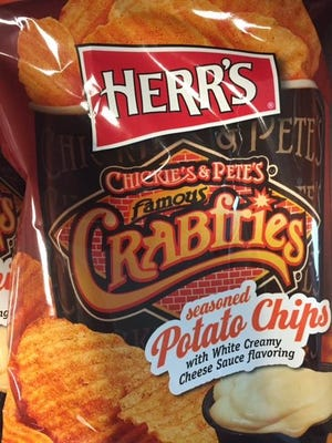 Herr Foods unveiled new potato chips that taste like the popular Crabfries and cheese sauce dip served at Chickie's & Pete's, a chain of Philadelphia-area sports bars.