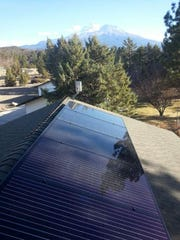 Solar energy can conserve resources and a homeowner's