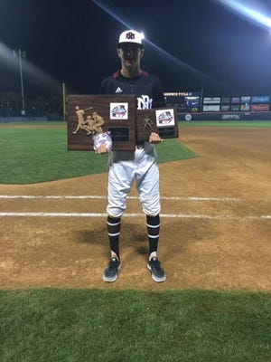 Dyer was named Most Outstanding Player of the prestigious National Baseball Classic at Cal State-Fullerton