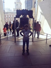Jack loved learning about the Liberty Bell.