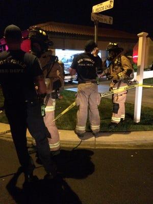 Scottsdale Fire on scene for haz-mat call.