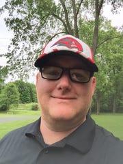 Marshall head coach Jason Stealy, former teammate of