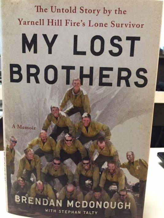 yarnell hill fire brendan mcdonough book survivor