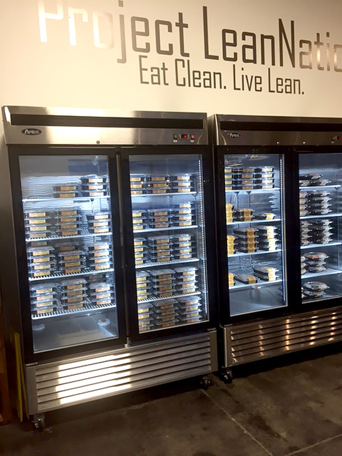 Grab-and-go meals from Project LeanNation.
