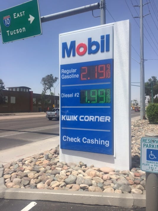 Phoenix Gas Prices >> Gas Prices On The Rise In Phoenix And Nationwide But Still