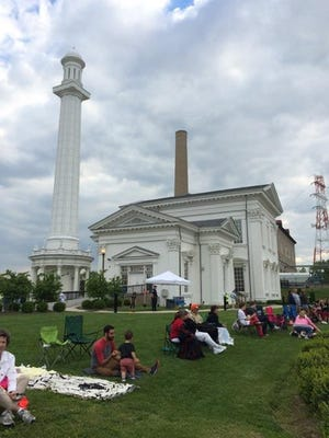 Louisville Water Tower Park is the location of the Great Space, Place & Boat Race Viewing Party.