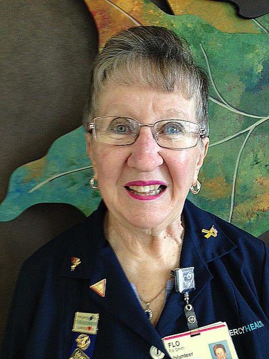 Flo Smith - Clermont Hospital volunteer