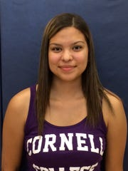Hillary Alvarez will play basketball for Cornell College.