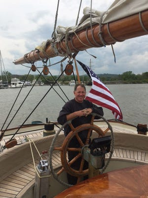 Capt. Troy Sears and his crew are taking the schooner America, a replica of the sailing ship that launched the America's Cup, on a tour of the Easy Coast, then on to the Caribbean and Bermuda.