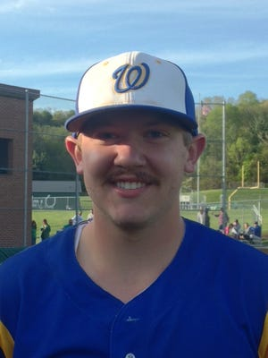Wooster senior Mason McGee hit a 3-RBI double against Clear fork Monday night to help the Generals earn an 11-1 victory.