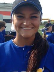 Clyde pitcher Adriana Sanchez.