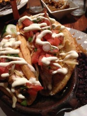 Puffy fish tacos are one of the best-selling dishes at Agave in Lewes. One-hour, or more, waits for tables are not unusual at this very popular Second Street restaurant.