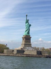 On April 30, Dotty Epstein of Metuchen and members of her immediate family, Cathy, Steve, Brian and Kyle Thompson of Montgomery and Shaun Epstein of New York headed to Ellis Island to mark the 100th anniversary of their ancestors' arrival in America.