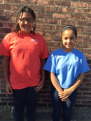 A mission for Mercy: Kaila and Jalisa desired an education at Our Lady of Mercy. They're part of Cameron Ministries' R&R Program that helps them achieve their goals.
