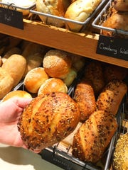 Don't leave for the beach without great, freshly baked bread, such as these onion rolls from Whole Foods.