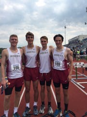 Arlington boys 3,200 relay team finished fourth at