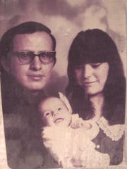 Janet Castrejon with her parents, Dr. Eduardo and Lydia