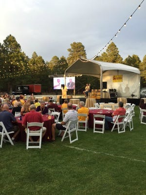 For much of the last decade, just when the temperatures in the Valley reflect the inside of a pizza oven, the White Mountain ASU Alumni Chapter holds a two-day golf tournament and steak fry that attract a terrific collection of past and present players and coaches.