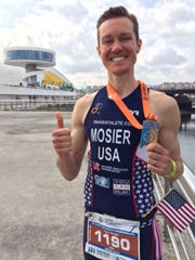 Chris Mosier became the first openly trans man to compete