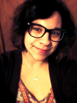 Magdalena Rocha, 19, of Plover, WI. Rocha is studying Sociology at Carthage College in Kenosha, WI.