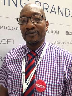 Jesse Smith was a delegate for Vermont Sen. Bernie Sanders at the Democratic National Convention in Philadelphia.