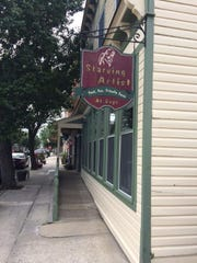 The Starving Artist at Days has breakfast and lunch options in Ocean Grove.