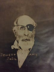 Jewett Williams, a Civil War veteran who served with the 20th Maine Volunteer Infantry Regiment, was admitted as a patient at Oregon State Hospital for the last three months of his life. He was 78 when he died July 17, 1922. No one came forward to claim his remains.
